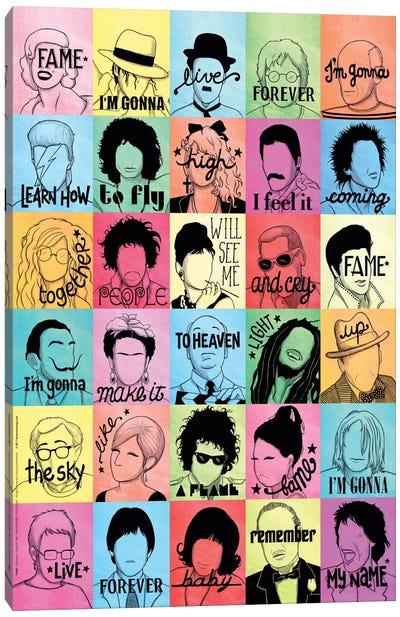 Fame Canvas Art Print