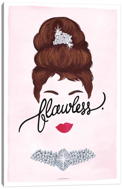 Flawless Series: Audrey Canvas Art Print