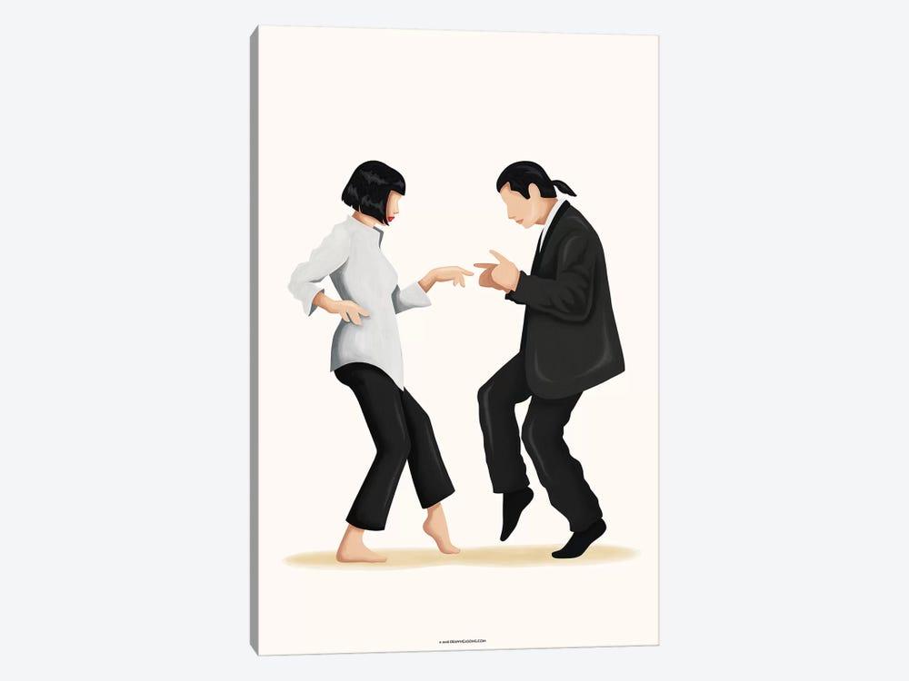 Pulp Fiction by Nour Tohmé 1-piece Canvas Art Print