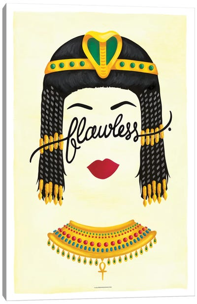 Flawless Series: Cleopatra Canvas Art Print