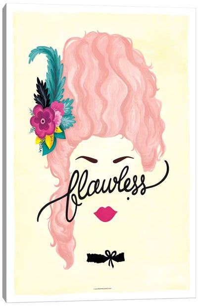 Flawless Series: Marie Antoinette Canvas Art Print