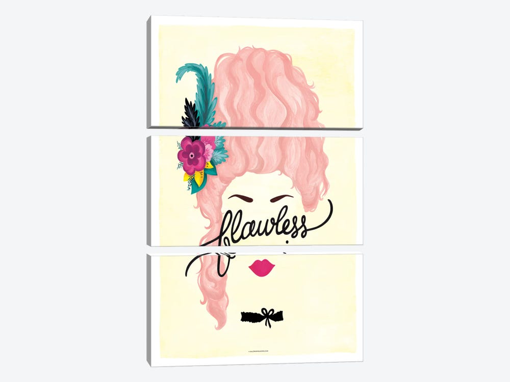 Marie Antoinette by Nour Tohmé 3-piece Canvas Art