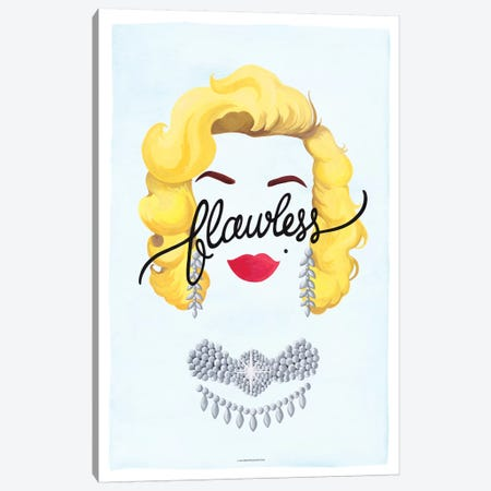 Marilyn Canvas Print #NUR6} by Nour Tohmé Art Print