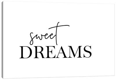 Sweet Dreams Canvas Art Print