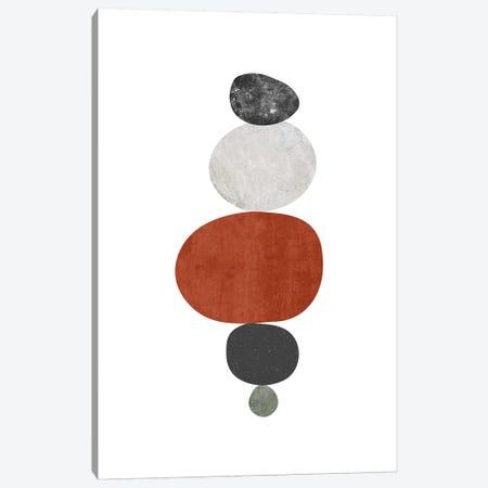 Pebbles IV Canvas Print #NUV135} by Nouveau Prints Art Print