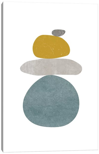 Pebbles V Canvas Art Print
