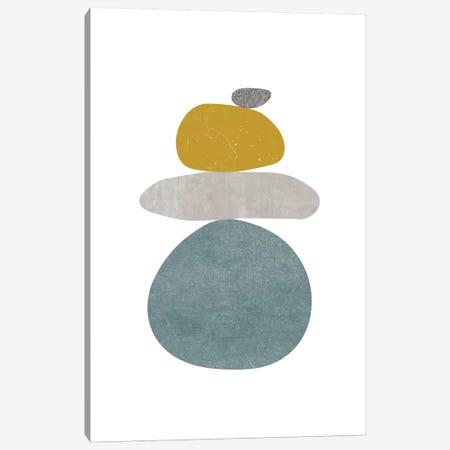 Pebbles V Canvas Print #NUV136} by Nouveau Prints Art Print