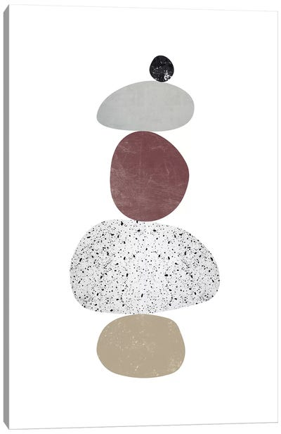 Pebbles VI Canvas Art Print
