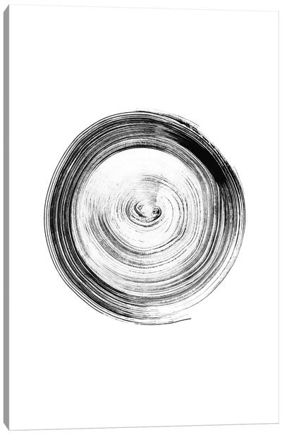 Ink Circle Canvas Art Print