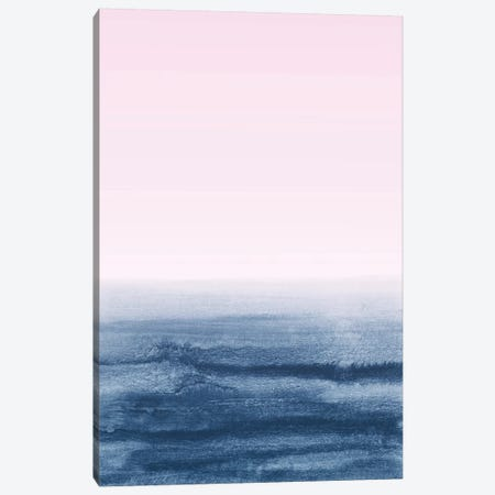 Watercolor Landscape X Canvas Print #NUV140} by Nouveau Prints Canvas Art Print