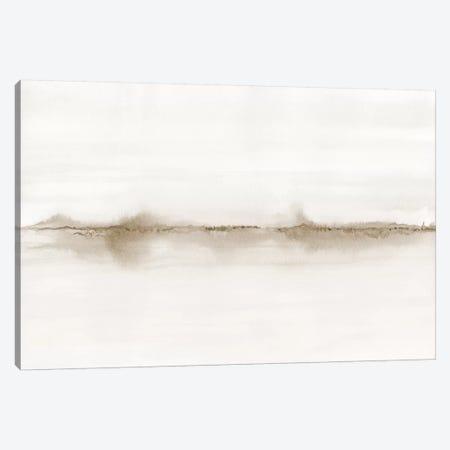 Watercolor Landscape Vii - Shades Of Sepia Canvas Print #NUV144} by Nouveau Prints Canvas Artwork