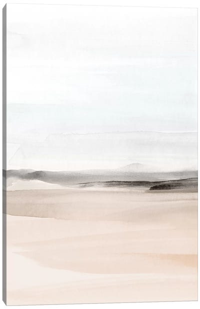 Watercolor Landscape Viii - Portrait Canvas Art Print
