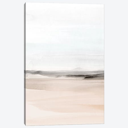 Watercolor Landscape Viii - Portrait Canvas Print #NUV147} by Nouveau Prints Canvas Art