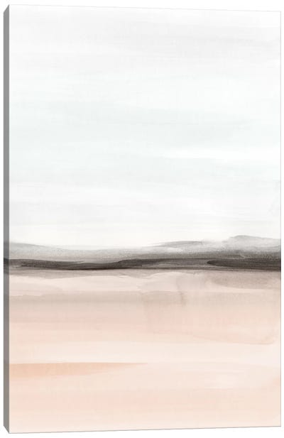 Watercolor Landscape Ix - Portrait Canvas Art Print