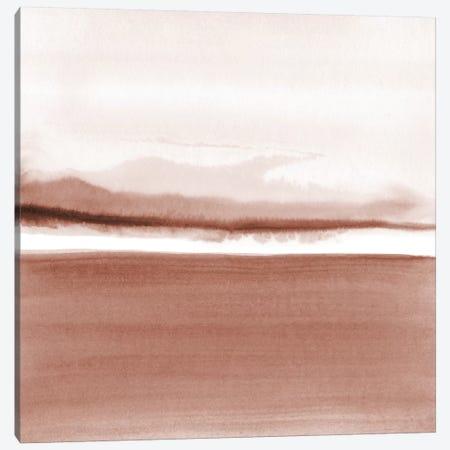Watercolor Landscape XIII - Square Canvas Print #NUV162} by Nouveau Prints Canvas Print