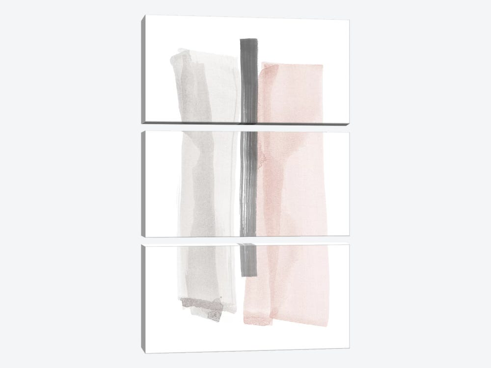 Brush Strokes II by Nouveau Prints 3-piece Art Print