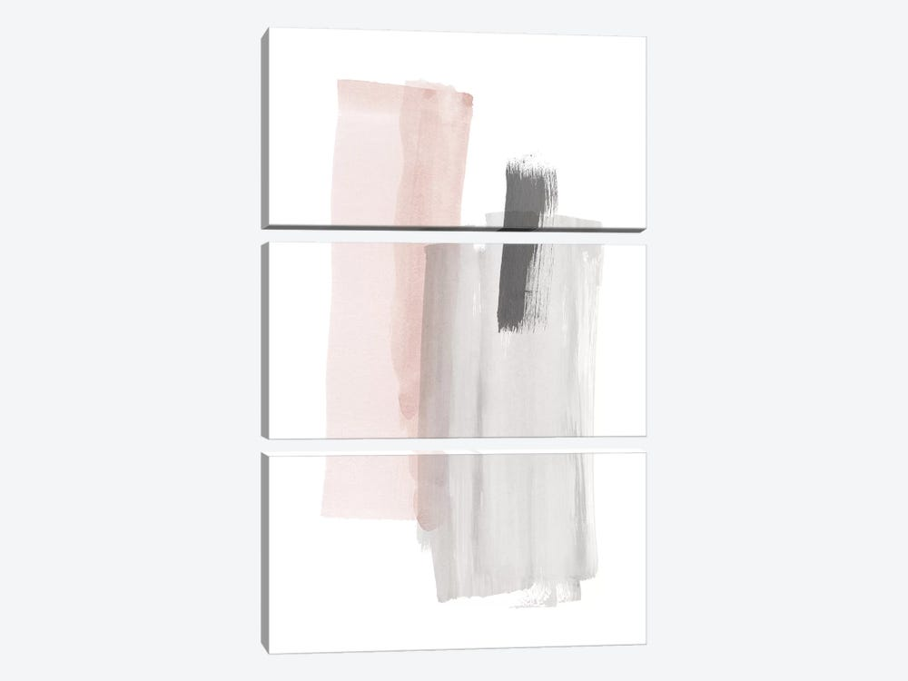 Brush Strokes III by Nouveau Prints 3-piece Canvas Artwork