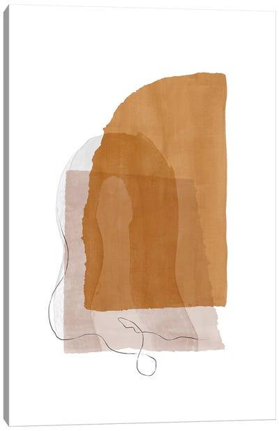 Fragment I - Camel Canvas Art Print