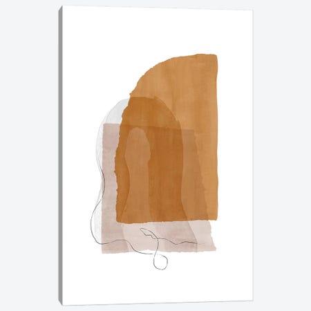 Fragment I - Camel Canvas Print #NUV167} by Nouveau Prints Canvas Art
