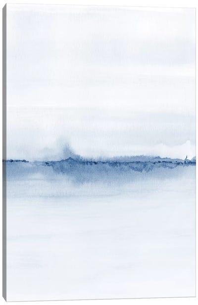 Watercolor Landscape V - Shades Of Blue 2/2 Canvas Art Print