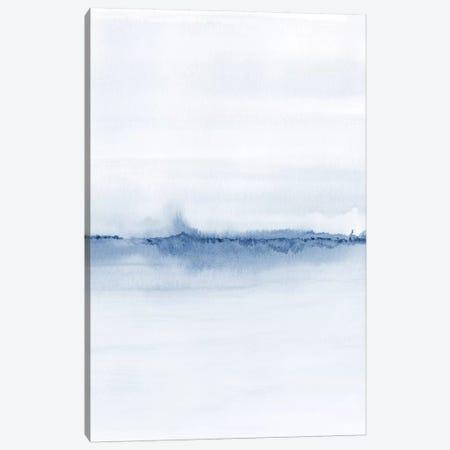 Watercolor Landscape V - Shades Of Blue 2/2 Canvas Print #NUV179} by Nouveau Prints Canvas Wall Art