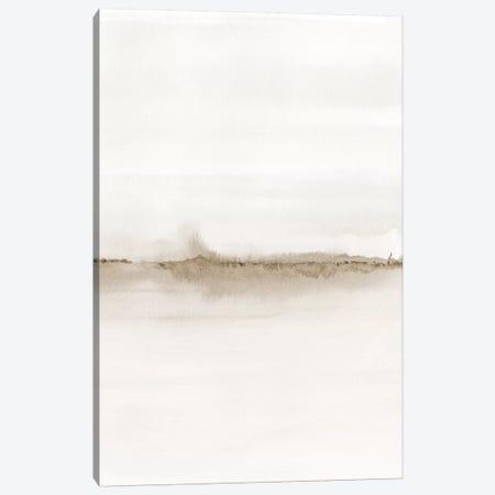 Watercolor Landscape VII - Shades Of Sepia 2/2 Canvas Print #NUV183} by Nouveau Prints Canvas Art Print