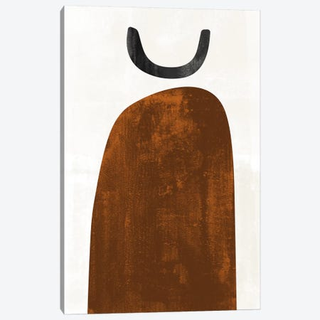 Abstraction In Rust Canvas Print #NUV186} by Nouveau Prints Canvas Wall Art