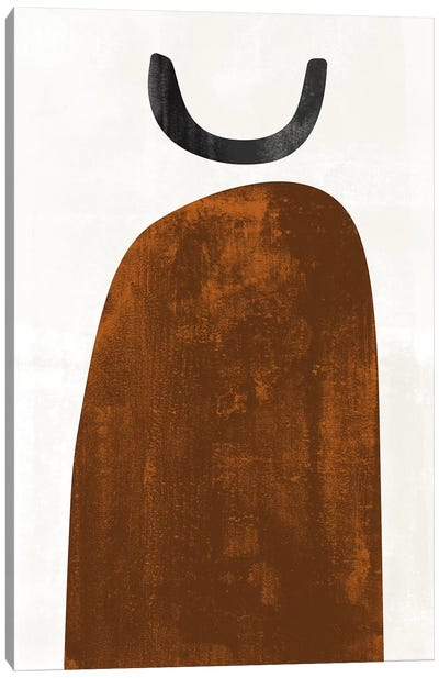 Abstraction In Rust Canvas Art Print