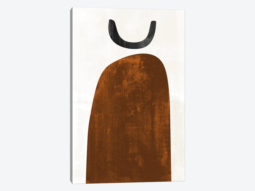Abstraction In Rust by Nouveau Prints 1-piece Canvas Art Print