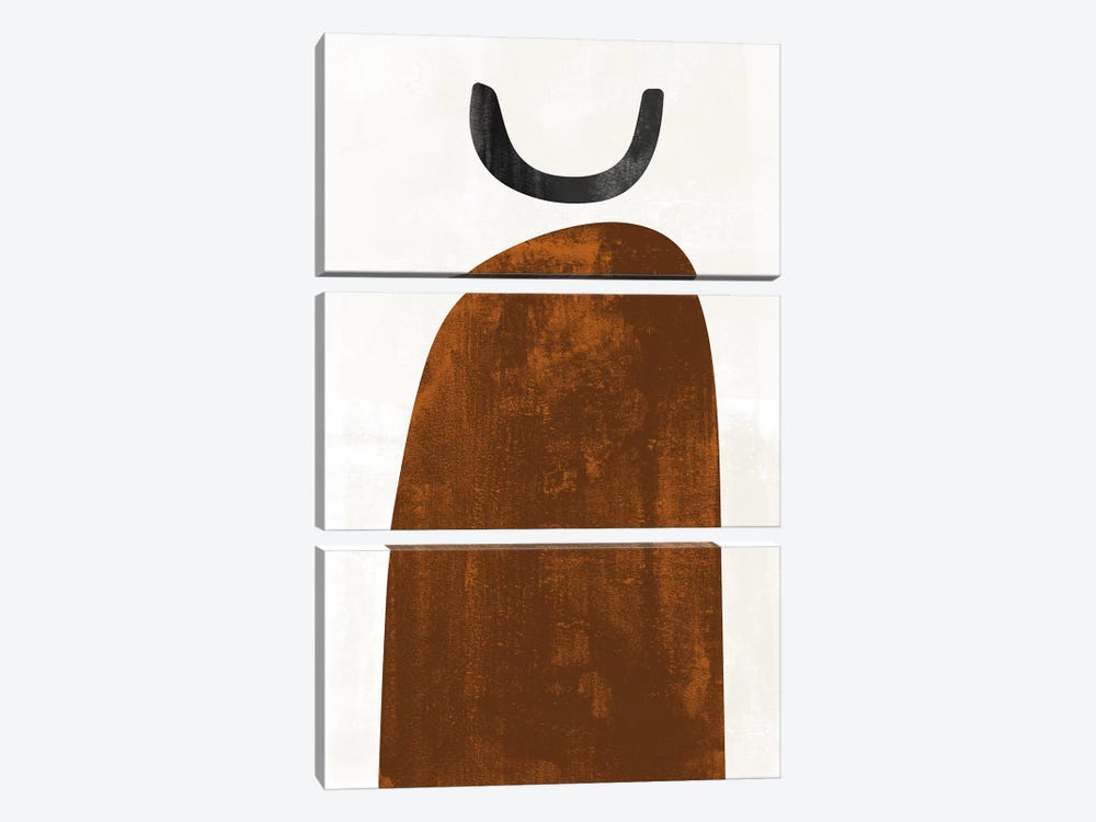 Abstraction In Rust by Nouveau Prints 3-piece Art Print