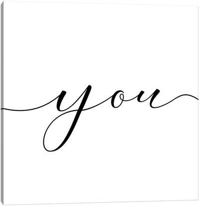 You And Me I Canvas Art Print
