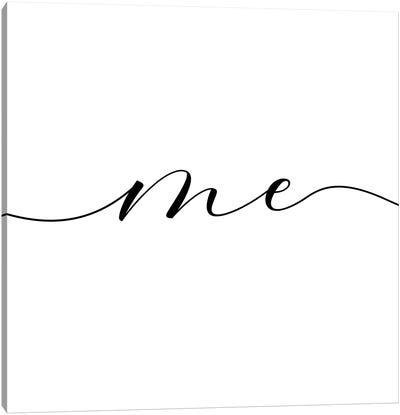 You And Me III Canvas Art Print