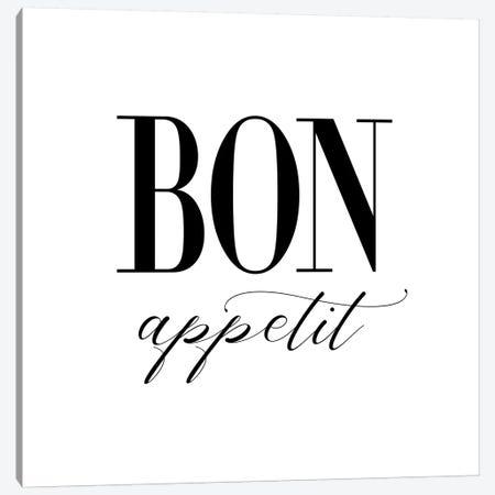 Bon Appetit Canvas Print #NUV191} by Nouveau Prints Canvas Art