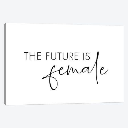 The Future Is Female Canvas Print #NUV194} by Nouveau Prints Canvas Art Print