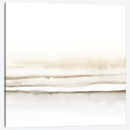 Watercolor Landscape VII - Square I Canvas Print #NUV195} by Nouveau Prints Canvas Art Print