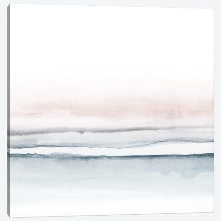 Watercolor Landscape VIII - Square I Canvas Print #NUV197} by Nouveau Prints Canvas Print