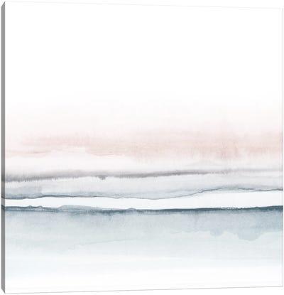 Watercolor Landscape VIII - Square I Canvas Art Print