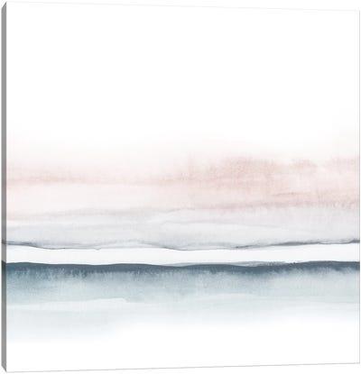 Watercolor Landscape VIII - Square II Canvas Art Print