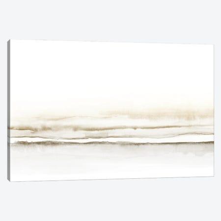 Watercolor Landscape X Sepia Canvas Print #NUV204} by Nouveau Prints Canvas Art Print