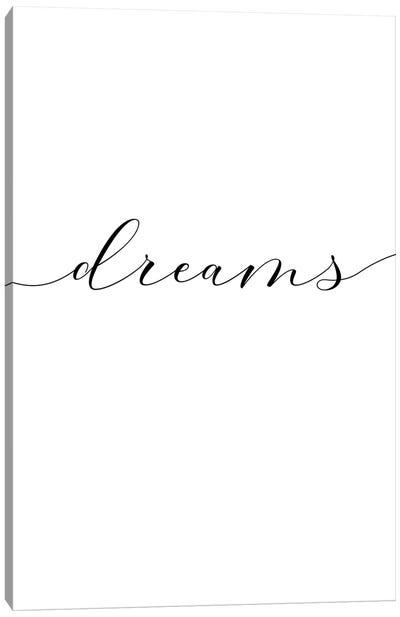 Sweet Dreams II Canvas Art Print