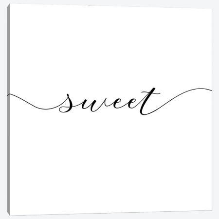 Sweet Dreams I - Square Canvas Print #NUV225} by Nouveau Prints Canvas Print