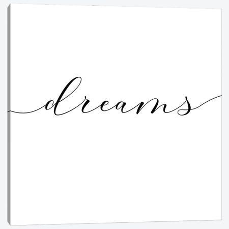 Sweet Dreams II - Square 3-Piece Canvas #NUV226} by Nouveau Prints Canvas Art Print