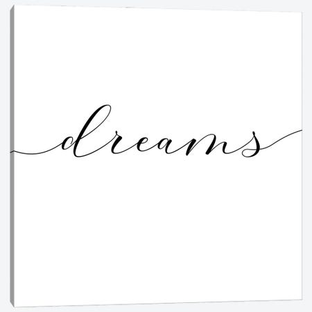 Sweet Dreams II - Square Canvas Print #NUV226} by Nouveau Prints Canvas Art Print