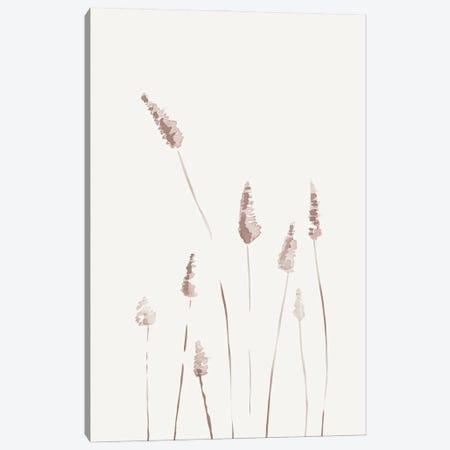 Watercolor Reeds I Canvas Print #NUV230} by Nouveau Prints Canvas Art Print