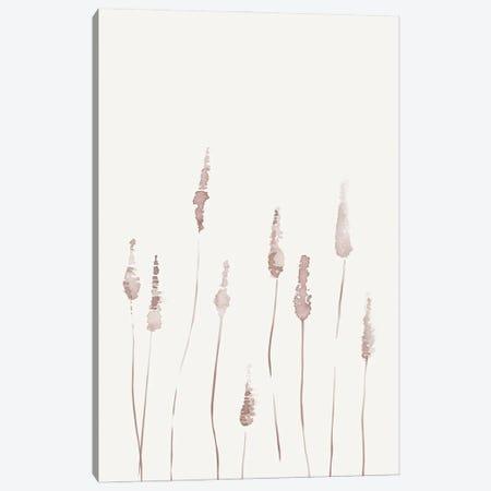 Watercolor Reeds II Canvas Print #NUV231} by Nouveau Prints Art Print
