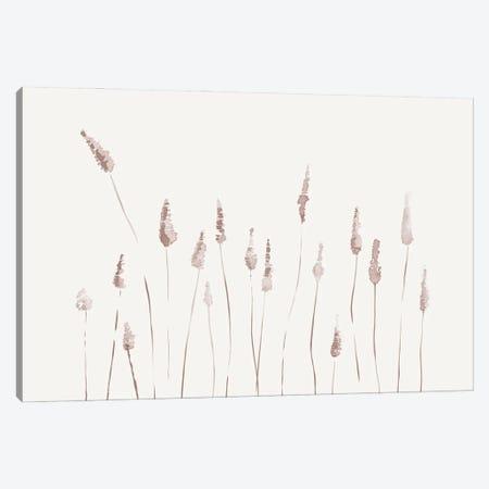 Watercolor Reeds - Landscape Canvas Print #NUV232} by Nouveau Prints Art Print