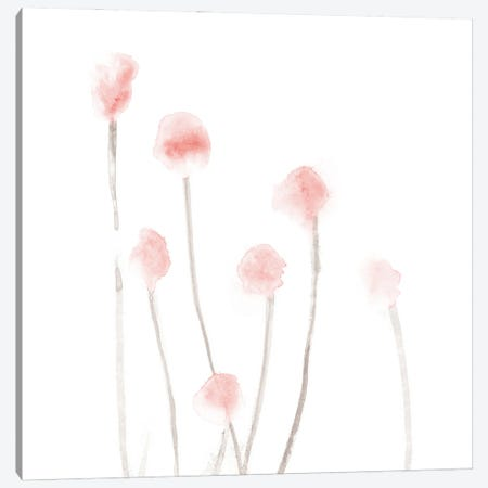 Botanical I - Square Canvas Print #NUV234} by Nouveau Prints Canvas Artwork