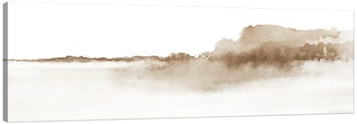 Watercolor Landscape XVI - Panoramic Canvas Art Print