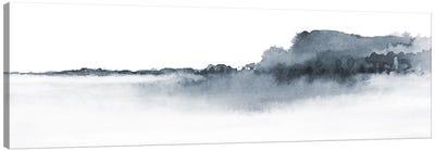 Watercolor Landscape XVII - Panoramic Canvas Art Print