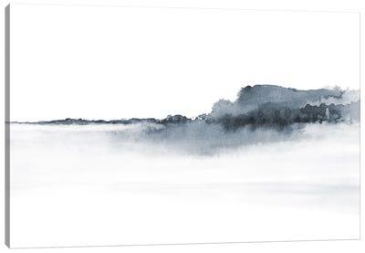 Watercolor Landscape XVII Gray Canvas Art Print